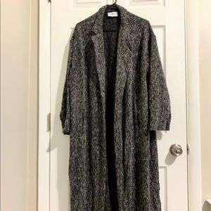 Zara Rustic Black Long Jacket